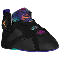 Jordan Retro 7 - Girls' Infant - Black / Orange