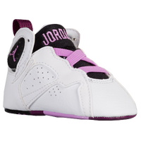 Jordan Retro 7 - Girls' Infant - White / Purple