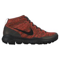 Nike Flyknit Trainer Chukka - Women's - Orange / Black