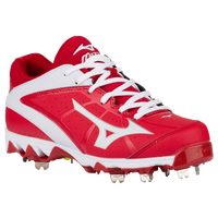 Mizuno 9-Spike Swift 4 - Women's - Red / White