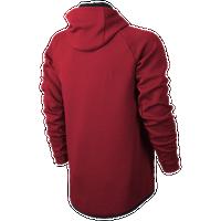 920169f2ec954 Nike Tech Fleece Full Zip Windrunner Jacket - Men s - Red   Black