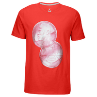 Jordan Retro 10 Double Nickel T-Shirt - Men's - Red / White
