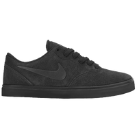 Nike SB Check - Boys' Grade School - All Black / Black