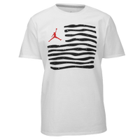 Jordan Retro 10 Liberty T-Shirt - Men's - White / Black