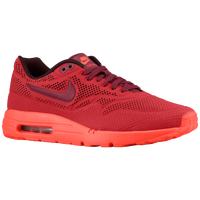 Nike Air Max 1 - Men's - Red / Maroon