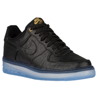 Nike Air Force 1 Comfort - Men's - Black / Gold