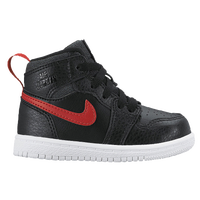 Jordan AJ 1 High - Boys' Toddler - Black / Red