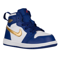 Jordan AJ 1 High - Boys' Toddler - Navy / Gold