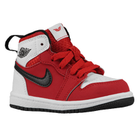 Jordan AJ 1 High - Boys' Toddler - Red / Black