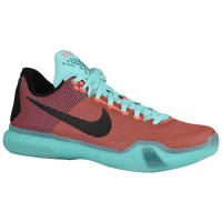 Nike Kobe X - Men's -  Kobe Bryant - Orange / Aqua