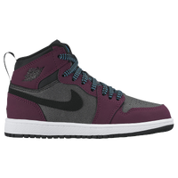 Jordan AJ 1 High - Girls' Preschool - Maroon / Black