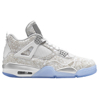 Jordan Retro 4 - Men's - White / Grey