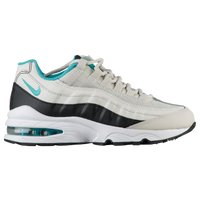 Nike Air Max 95  - Boys' Grade School - Off-White / Aqua
