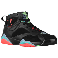 Jordan Retro 7 - Men's - Black / Light Blue