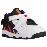 Jordan Retro 8 - Boys' Toddler - White / Black