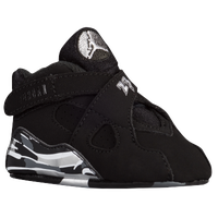 Jordan Retro 8 - Boys' Infant - Black / Grey