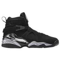 Jordan Retro 8 - Boys' Grade School - Black / White