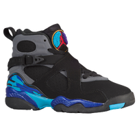 Jordan Retro 8 - Boys' Grade School - Black / Red