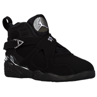 Jordan Retro 8 - Boys' Preschool - Black / White