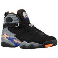 Jordan Retro 8 - Men's - Black / Grey