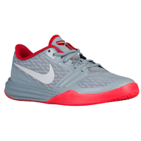 Nike Mentality - Boys' Grade School - Grey / Red