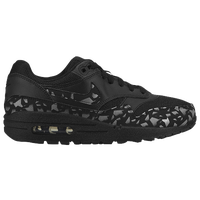 Nike Air Max 1 - Boys' Grade School - Black / Grey