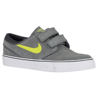 Nike SB Stefan Janoski - Boys' Grade School - Grey / Light Green