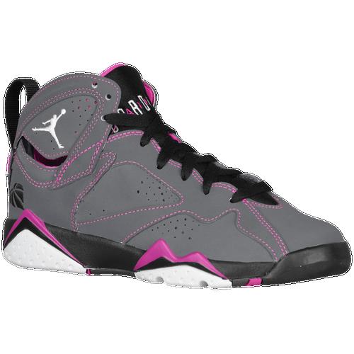 jordan retro girls grade school basketball shoes