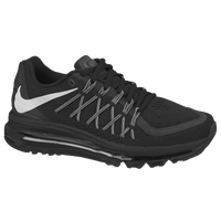 Nike Air Max 2015 - Boys' Grade School - Black / White