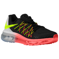 Nike Air Max 2015 - Boys' Grade School - Black / Light Green