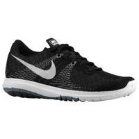 Nike Flex Fury - Boys' Grade School - Black / Grey