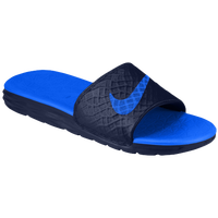 Nike Benassi Solarsoft Slide 2 - Men's - Navy / Blue