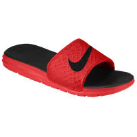 Nike Benassi Solarsoft Slide 2 - Men's - Red / Black