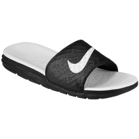 Nike Benassi Solarsoft Slide 2 - Women's - Black / White