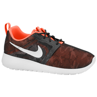 Nike Roshe One Flight Weight - Boys' Grade School - Grey / Orange