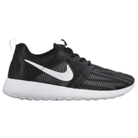 Nike Roshe Run Flight Weight - Boys' Grade School - Black / White