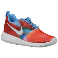 Nike Roshe One Flight Weight - Girls' Grade School - Red / Light Blue