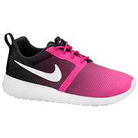 Nike Roshe One Flight Weight - Girls' Grade School - Pink / Black