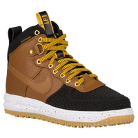 Nike Lunar Force 1 Duckboot - Men's - Black / Gold