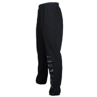 Jordan Jumpman Graphic Fleece Pants - Men's - Black / Grey