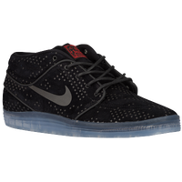 Nike SB Lunar Janoski Mid - Men's - Black / Grey