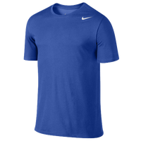 Nike Dri-Fit Cotton S/S Version 2.0 - Men's - Blue / Blue