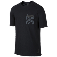 Jordan Pocket T-Shirt - Men's - Black / Grey