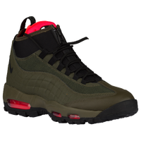 Nike Air Max 95 Sneakerboot - Men's - Olive Green / Black