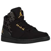 Jordan 1 Flight 3 - Men's - Black / Gold