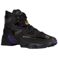 Nike LeBron XIII - Men's -  LeBron James - Black / Gold
