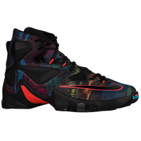 Nike LeBron XIII - Men's -  Lebron James - Black / Multicolor