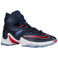 Nike LeBron XIII - Men's -  LeBron James - Navy / White