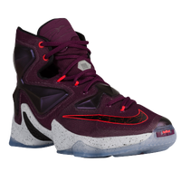 Nike LeBron 13 - Men's -  Lebron James - Maroon / Red