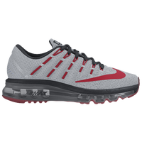 Nike Air Max 2016 - Boys' Grade School - Grey / Red
